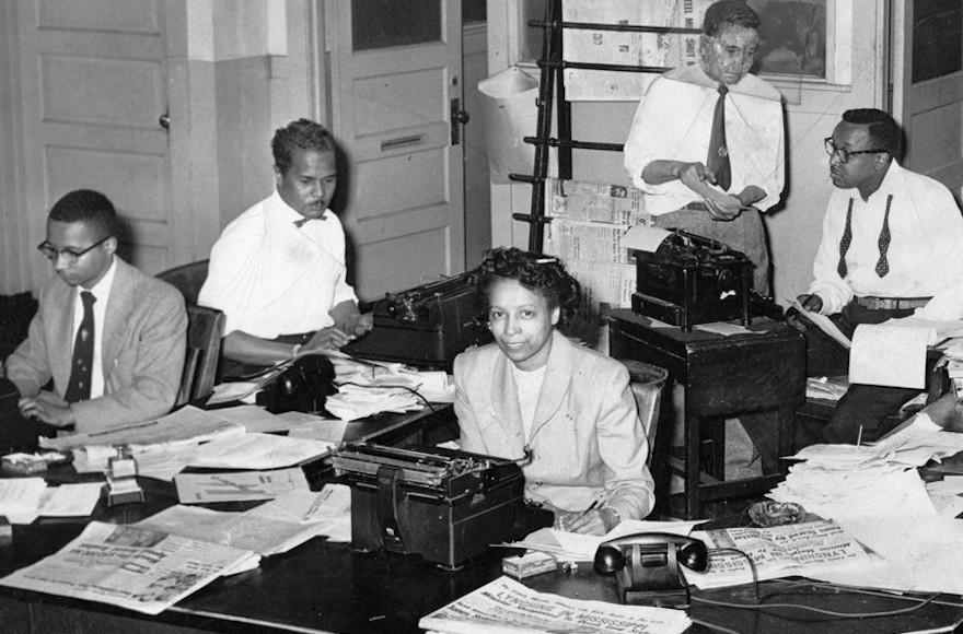 Journalists at the Chicago Defender, 1940s