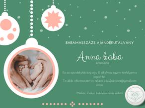 A babának nincs szüksége úgy játékra, mint a szeretetre - Babamasszázs karácsonyra