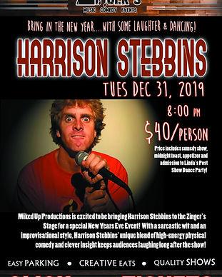 Harrison Stebbins Zingers Click for Tix