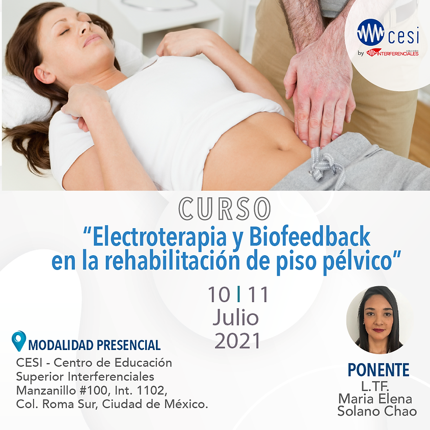 Electroterapia y Biofeedback en la rehabilitación de piso pélvico.