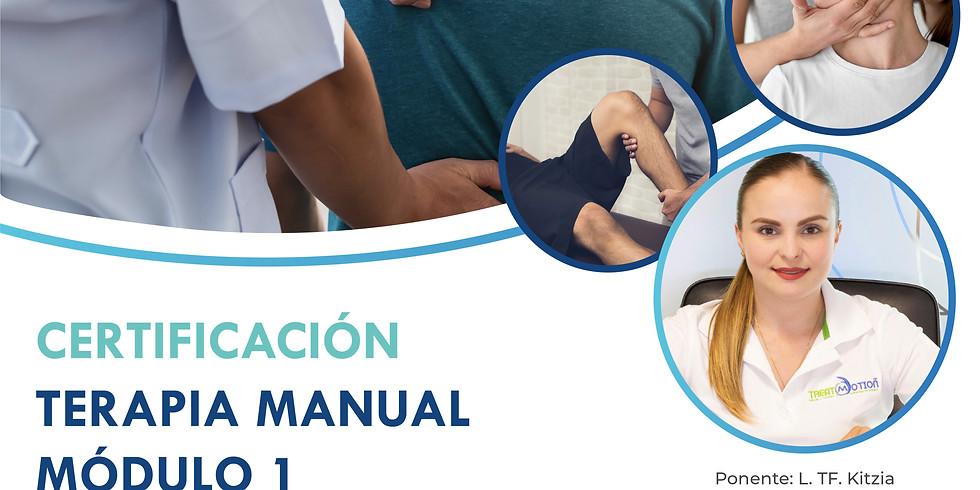Certificación Terapia Manual Módulo I