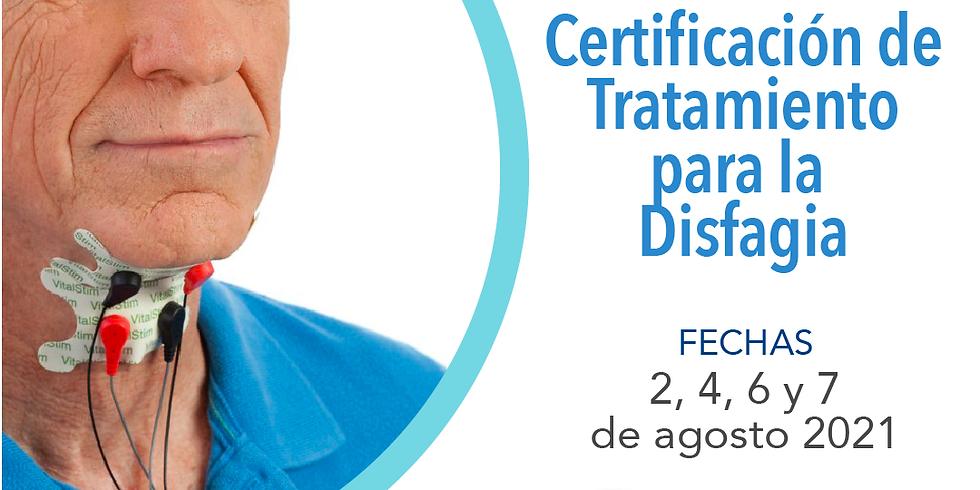 Certificación de Tratamiento para la Disfagia
