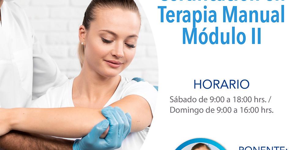 Terapia Manual Módulo II