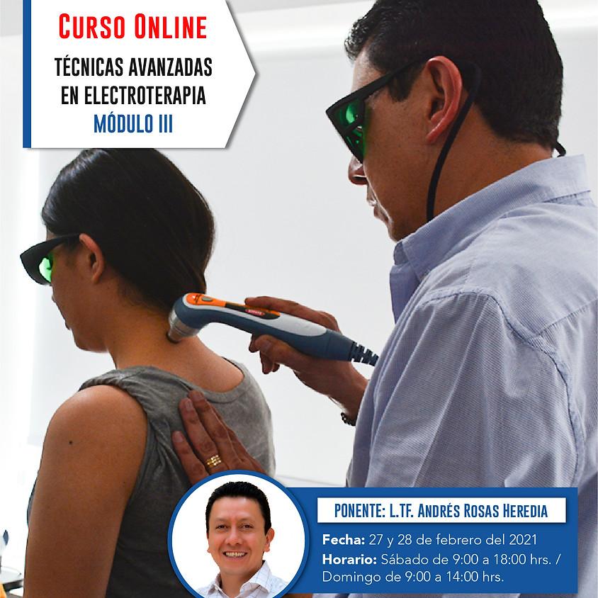 Técnicas Avanzadas en Electroterapia Módulo III Online
