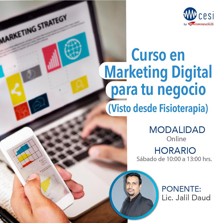 Curso Marketing Digital Para Tu Negocio (Visto desde Fisioterapia)