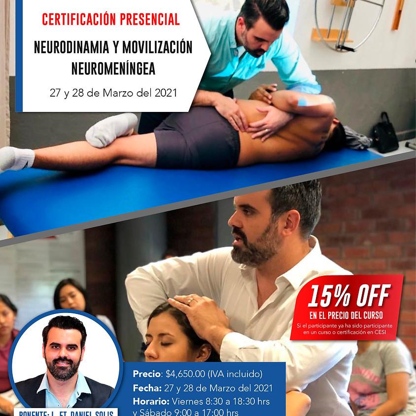 Certificación Neurodinamia y Movilización Neuromeníngea