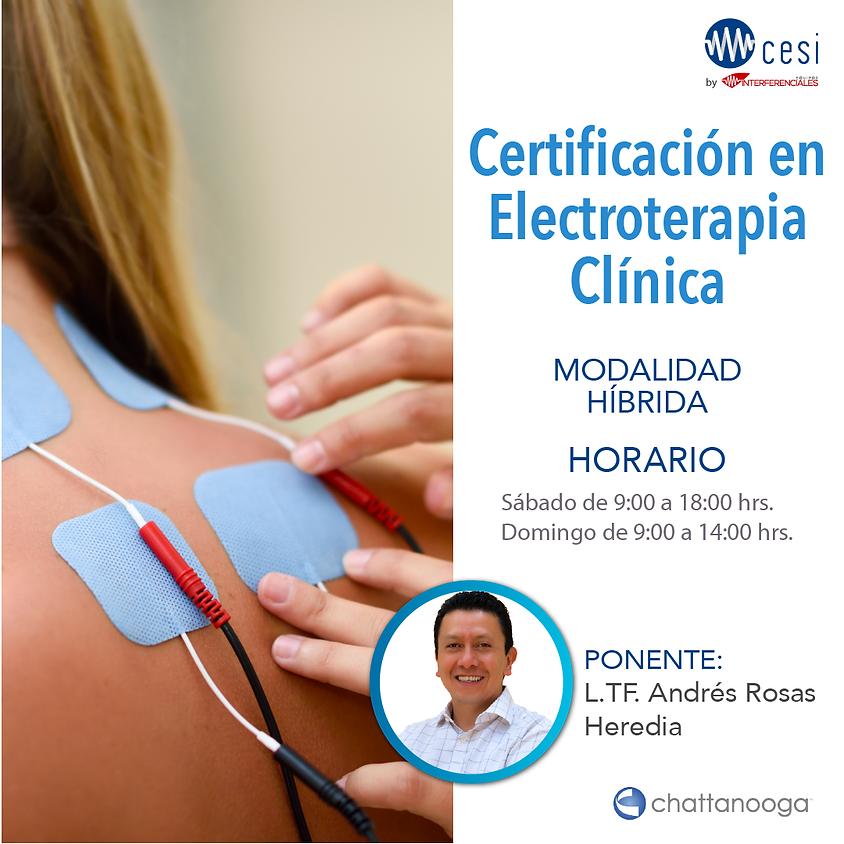Certificación en Electroterapia Clínica