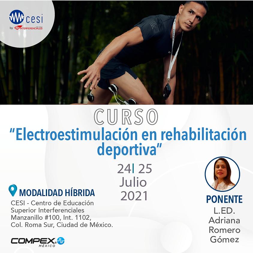 Curso Electroestimulación en Rehabilitación Deportiva.