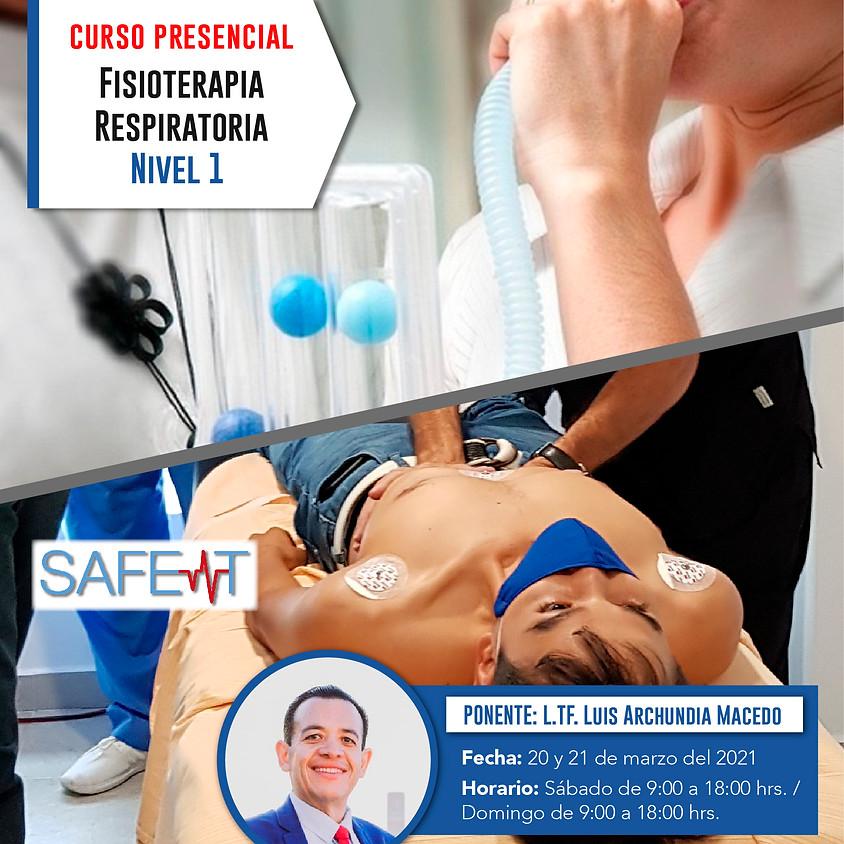 Certificación Terapia Respiratoria Nivel I