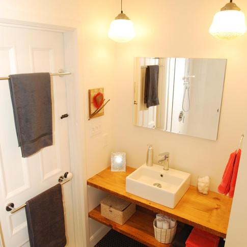 petite salle de bain mont-tremblant