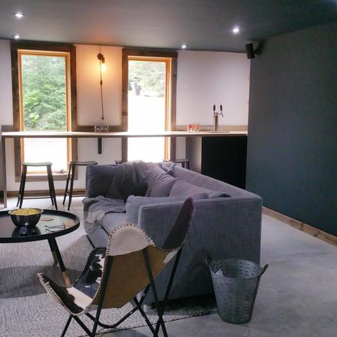 design de bar maison