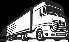 LKW-schnell-rasend-VEKTOR-weisser-Hinter