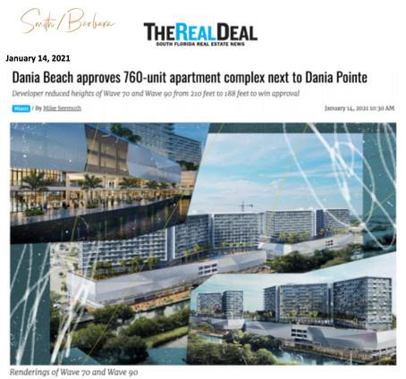 Dania Beach Real Estate - Dania Beach Commissioners approve new apartment complex in Dania Pointe