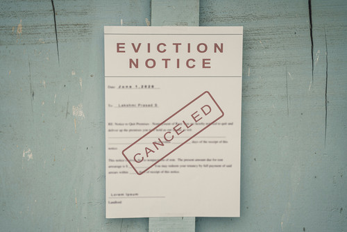 Temporary Halt to Residential Evictions