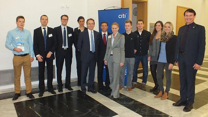GFA-Premium-Partner Citi mit Company Presentation im House of Finance am 14.11.12