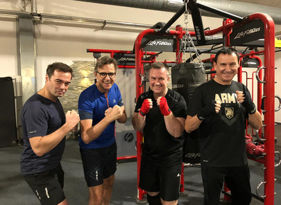 """Exclusive Personal Boxing Workout """"Never Quit"""" for Lions Club International, December 29th, 2017"""