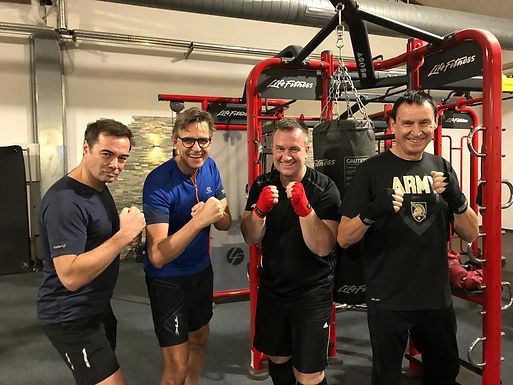 "Exclusive Personal Boxing Workout ""Never Quit"" for Lions Club International, December 29th, 2017"