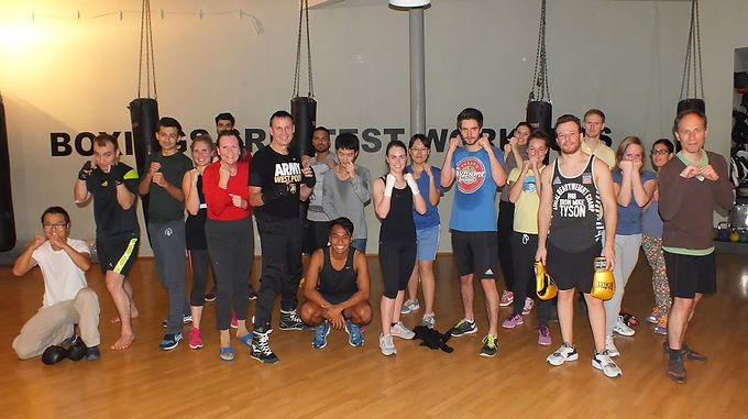 18. Exclusive GFA Boxing Workout, October 27th, 2015