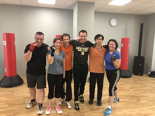 Dr. Harry W. Trummer gives Boxing Workout for Lions Clubs International in Mannheim, May 2018