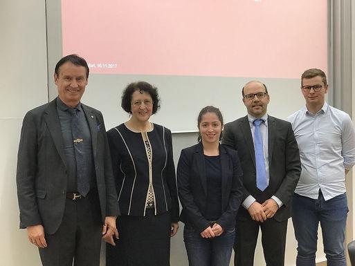 GFA partner valantic GmbH with Company Presentation at House of Finance, November 16th, 2017