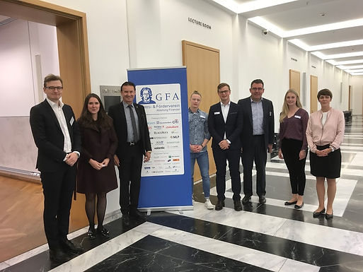 GFA supporter Rothschild with Company Presentation at House of Finance, May 3rd, 2018