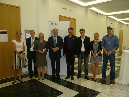 GFA-Förderunternehmen UBS Deutschland AG mit Fachvortrag im HoF am 26.05.2011