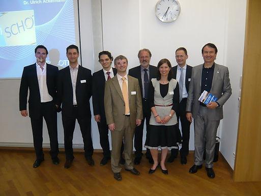 GFA-Förderunternehmen Schott AG zu Gast bei der GFA im House of Finance am 29.04.2010