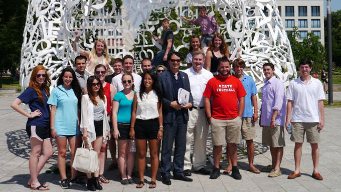 Poole College of Management at North Carolina States University zu Gast in Frankfurt, 24.06.2013