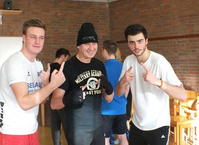 Boxing and Workout at Teambuilding-Weekend of Enactus Goethe-University Frankfurt, Dec 10th, 2016
