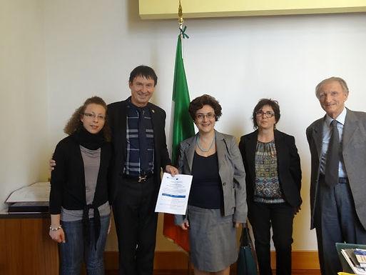 Dr. Trummer zu Gast an der Universität von Catania, 12. November, 2013