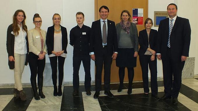 KPMG zu Gast mit Presentation im House of Finance am 22.01.2014