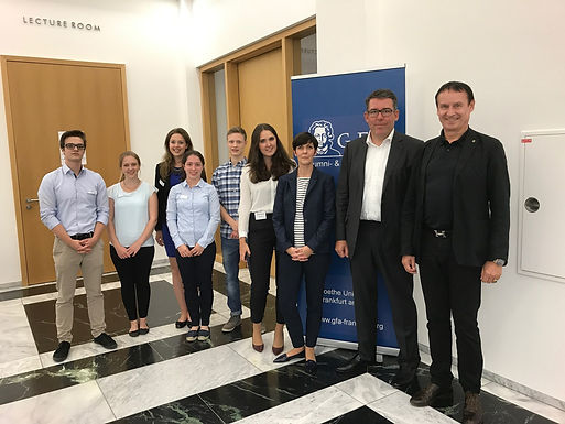 GFA supporter Rothschild with Company Presentation at House of Finance, June 28th, 2017