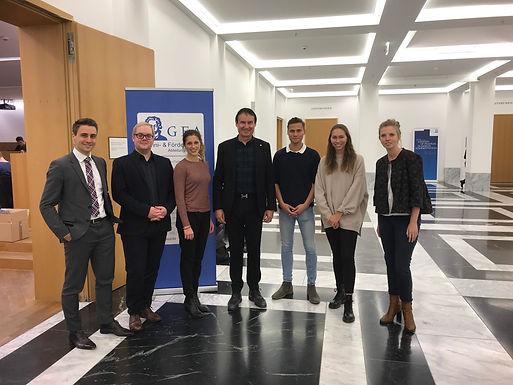 GFA supporter Deutsche Börse with Company Presentation at House of Finance, November 22nd, 2018