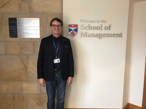 Dr. Trummer gave Leadership Seminar for Master students at University of St Andrews, March 2/3, 2019