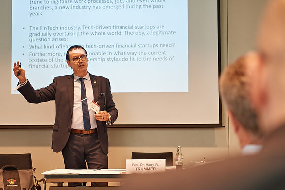 Dr. Trummer gives Workshop at 29. Finance Symposium in Mannheim Congress Center, May 18th, 2017