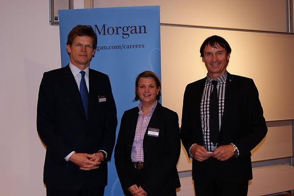 Careers Networking Event mit GFA Premiumpartner J.P.Morgan im HZ 4/Campus Westend am 28.10.2010
