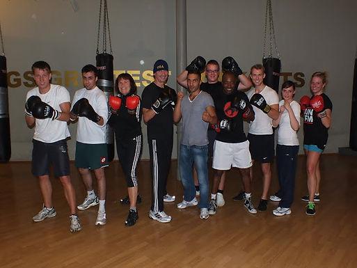 GFA Athletics – 4. GFA Fitness Boxing Workout am 19.10.2011