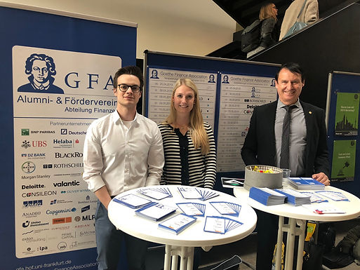 GFA @ Tag der Initiativen 2019 at Campus Westend, May 7th, 2019