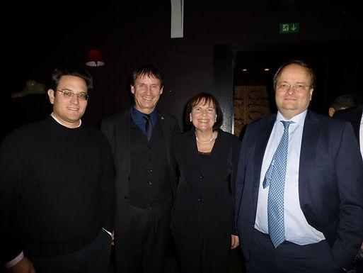 GFA zu Gast beim international Elite Alumni Club Event am 29.11.2012 in Frankfurt