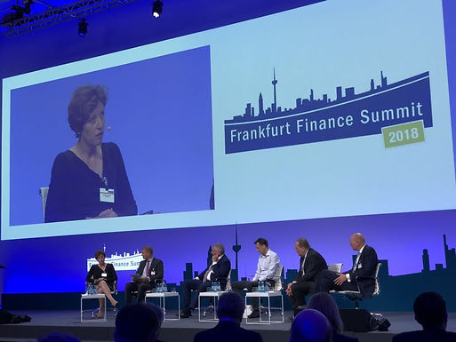 Dr. Trummer at Frankfurt Finance Summit 2018, May 29th, 2018