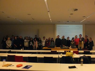 Guest lecture series mit Dr. Enrico Trevisan am 08.12.2014 im Campus Westend