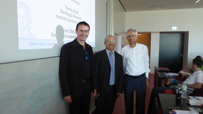 Top Executive Guest Speech with Jörg Krell at Campus Westend, June 19th, 2017