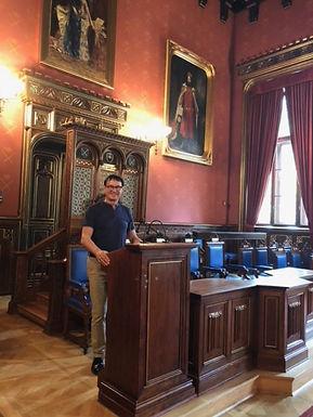 Dr. Trummer visits Jagiellonian University in Krakow, June 2019