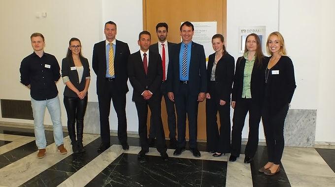 GFA-Supporter EY zu Gast mit Company Presentation im House of Finance am 05.06.2014