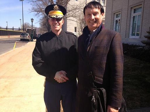 Dr. Trummer, VProfessor zu Gast bei United States Military Academy West Point im April 2014