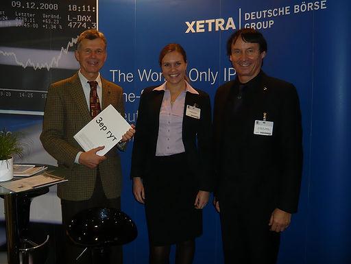 GFA auf 13. EURO FINANCE WEEK in Frankfurt am 18.11.2010