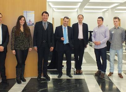 GFA-Förderunternehmen Ernst & Young mit Fachvortrag im HoF am 12.12.2012