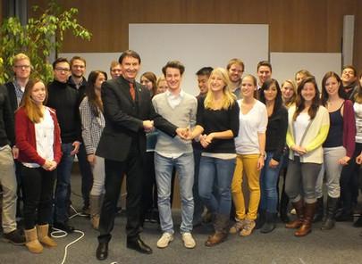 Enactus Goethe Universität Frankfurt Event mit GFA am 03.12.2012