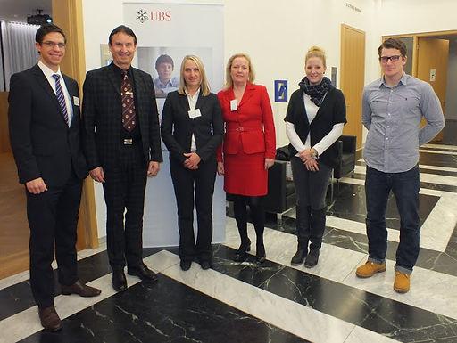 GFA-Premium-Partner UBS Deutschland AG mit Fachvortrag im HoF am 01.12.2011