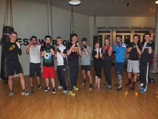 12. GFA Personal Fitness Boxing Workout am 28.01.2014